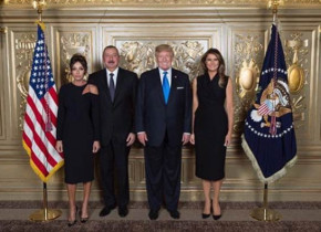 Prezident İlham Əliyev Donald Trampla görüşüb