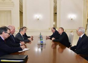 Azərbaycan prezidenti Sergey Lavrovun başçılıq etdiyi nümayəndə heyətini qəbul edib
