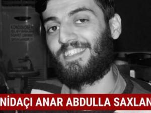 NİDA-çı Anar Abdullayev saxlanıldı