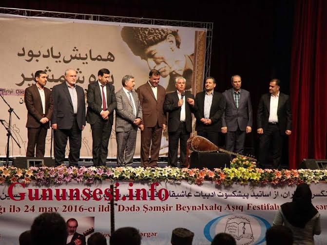 Tehranda Dədə Şəmşir adına Beynəlxalq Aşıq Festivalı keçirildi