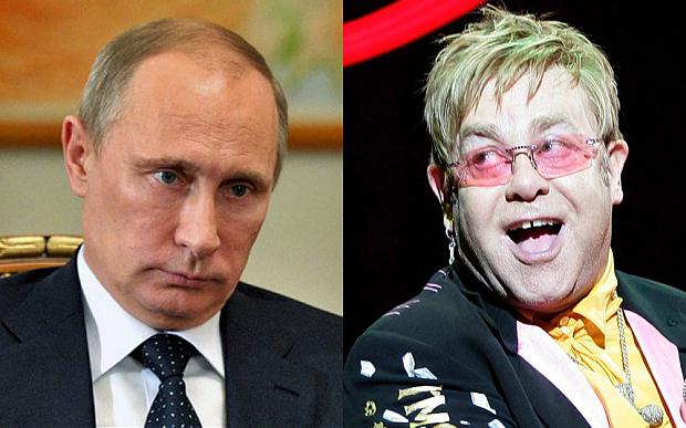 Elton Con Vladimir Putinlə seksual azlıqlardan danışmaq istəyir