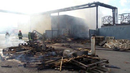 Rövşən Lənkəranskinin bazarını yandırdılar