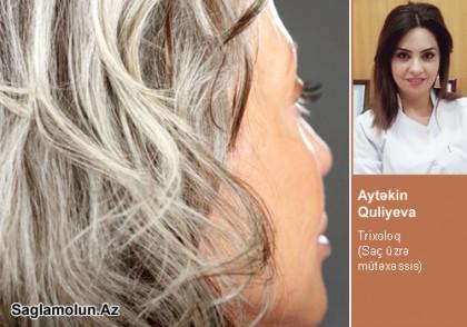 Saçların erkən ağarma səbəbləri…