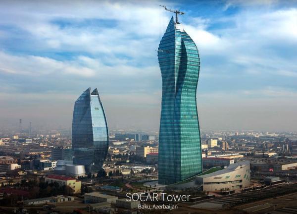 SOCAR-ın 1.5 milyardlıq ofisinin açılışı oldu
