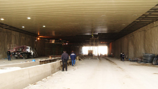 Ziya Bünyadov tunelinde qəza