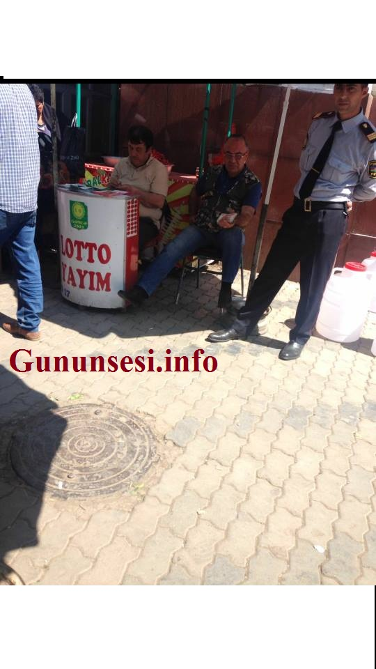 """Polis rəisi """"qara bazar""""ı himayə edir"""