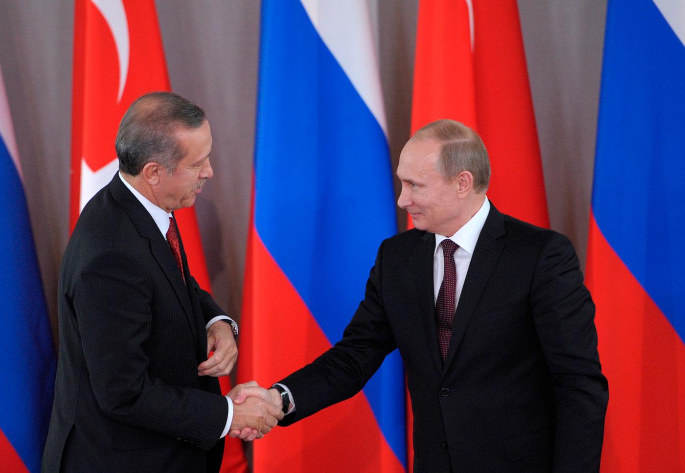 Rusiya ilə Türkiyə arasında buzlar əriyir