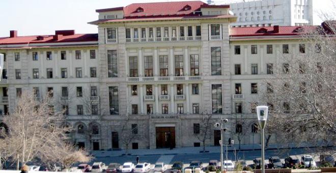 Nazirlər Kabinetinin üzvlərinin sayı 37 nəfərdir