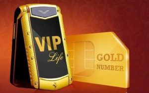 vip gold number