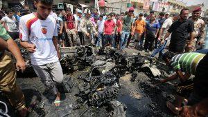 İraqda daha bir terror:30 ölü, 50 yaralı