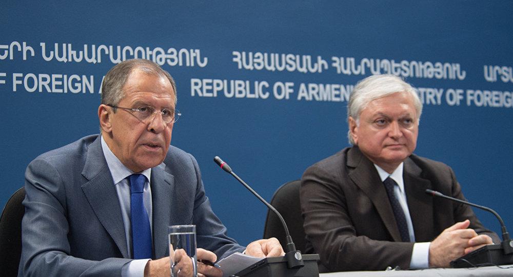 Lavrov və Nalbandyan arasında görüş keçirildi