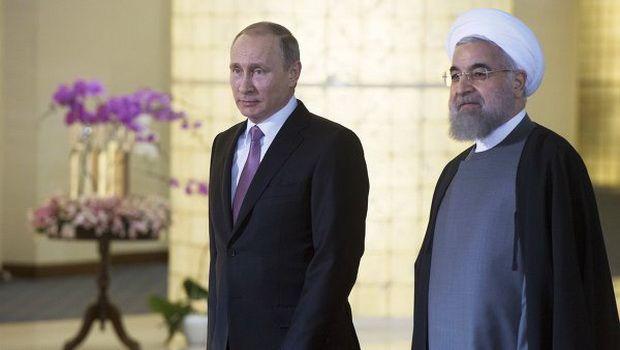 Putinlə Ruhani arasında telefon danışığı oldu