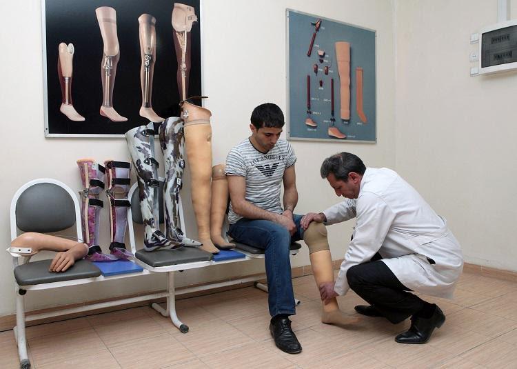 15 min 498 nəfər imtiyazlı şəxs bərpa-müalicə və protez-ortopedik xidmətlərlə təmin edilib