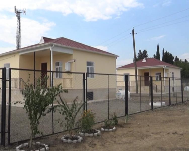 8 yeni fərdi yaşayış evi Qarabağ müharibəsi əlilləri və şəhid ailələrinin istifadəsinə verildi