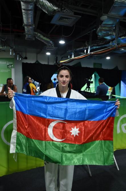"Taekvondoçumuz Patimat Abakarova ""Rio-2016""da Azərbaycan millisinin aktivinə bürünc medal yazdırdı"