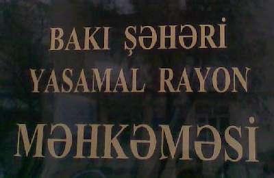 """Yasamal Məhkəməsinin sədri xadiməni """"şantaj""""la işdən qovdu"""