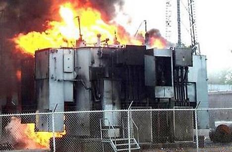 """""""Azərişıq"""" ASC-nin transformatoru yandı"""
