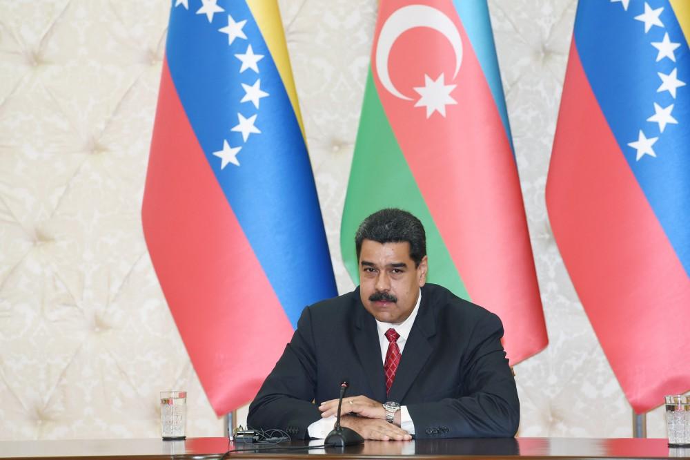 """""""Bolivarın, Çavesin irsinə bağlı insanlar kimi, biz ölkənizə vurulduq"""""""