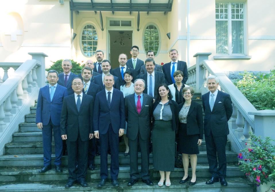Avropa İttifaqı-Azərbaycan strateji tərəfdaşlığına dair sazişlə bağlı müzakirələr aparıldı
