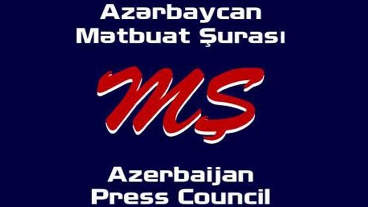 Mətbuat Şurasından Prezidentə