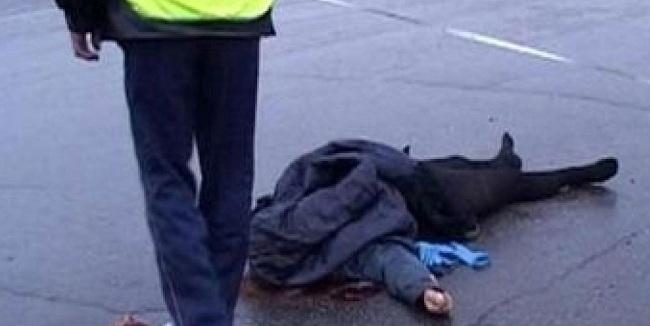 Bakıda piyadanı vuran sürücü hadisə yerindən qaçıb