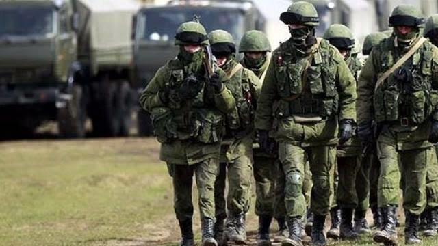 Rusiya Krımda hərbi təlimlərə başladı