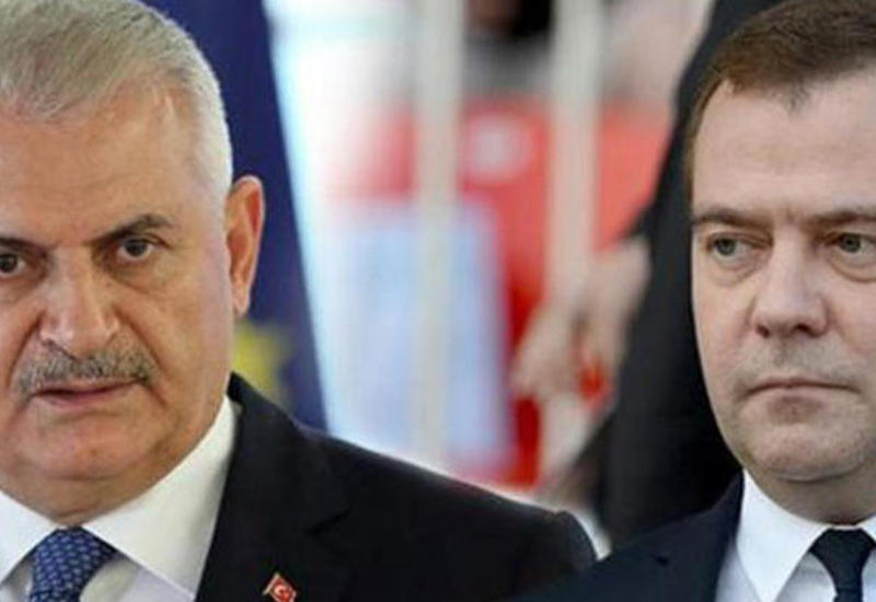 Yıldırımla Medvedev arasında telefon danışığı oldu…