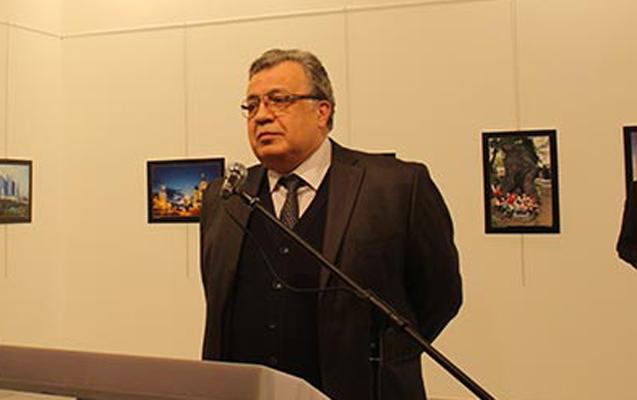 Rusya'nın Ankara Büyükelçisi Andrey Karlov, Ankara'da katıl