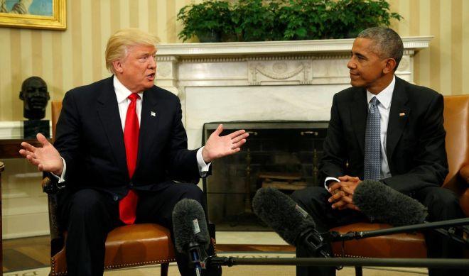 Obama Trampı təriflədi