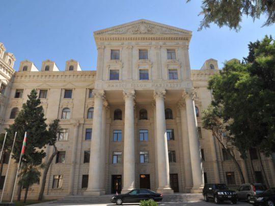 Azərbaycan XİN İranda baş verən hadisələrə münasibət bildirib