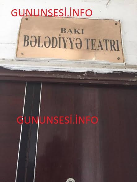 """""""Teatr zibil torbası asılmaq üçün qoyulan asılqandan başlayır"""""""