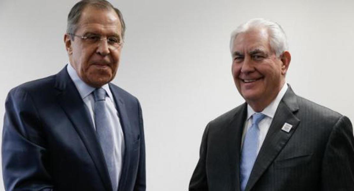 Lavrovla Tillerson nəyi müzakirə etdi?