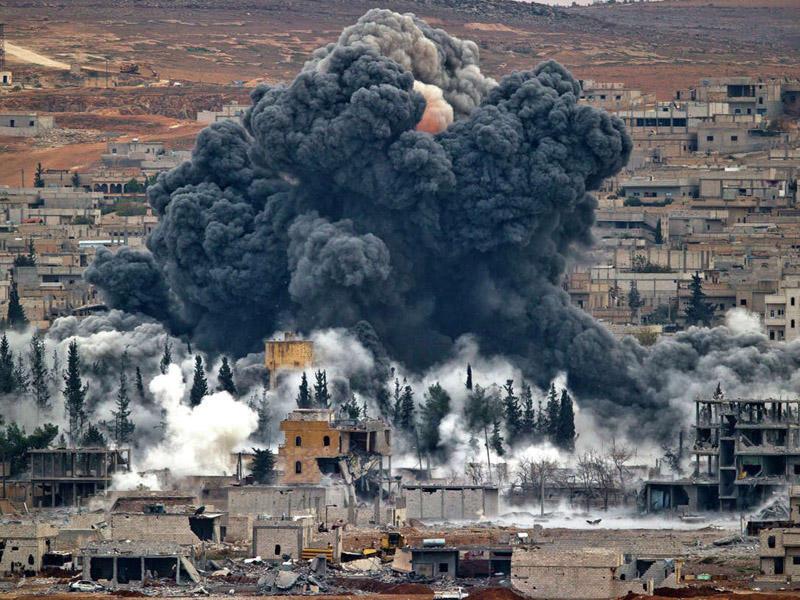 ABŞ özünün Suriyadakı aviabazasını bombalayıb