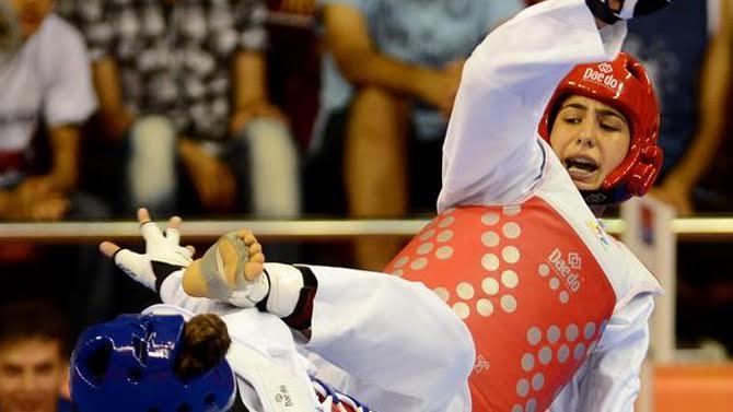 Taekvondoçumuz yarışın ilk bürünc medalını qazandı -