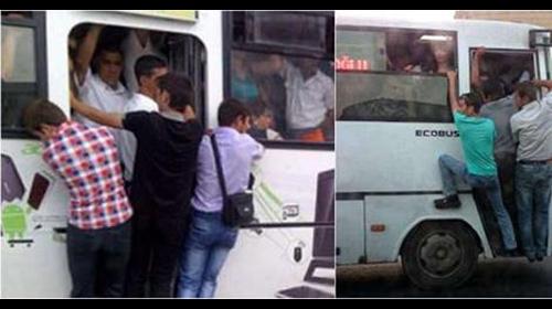 Bu avtobuslar ölümə aparır, minməyin!