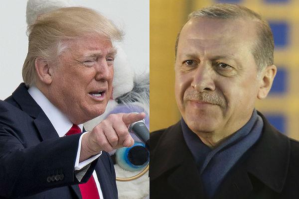 Trampdan Ərdoğana təşəkkür