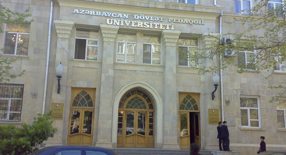 Azərbaycan Dövlət Pedaqoji Universitetində nə baş verir?