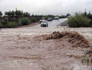 Güclü sel Bakı-Şamaxı yolunun bağlanmasına səbəb oldu: