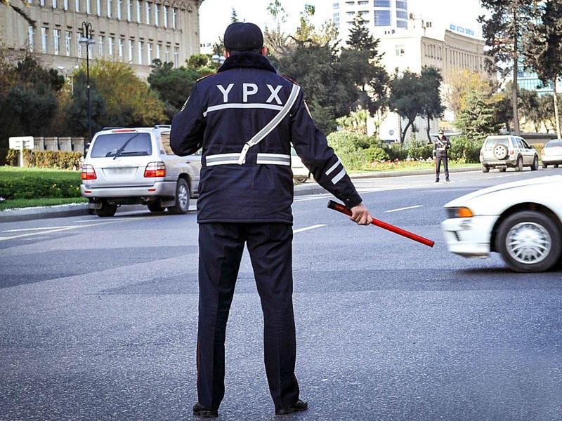 Yol polisi gücləndirilmiş iş rejiminə keçdi