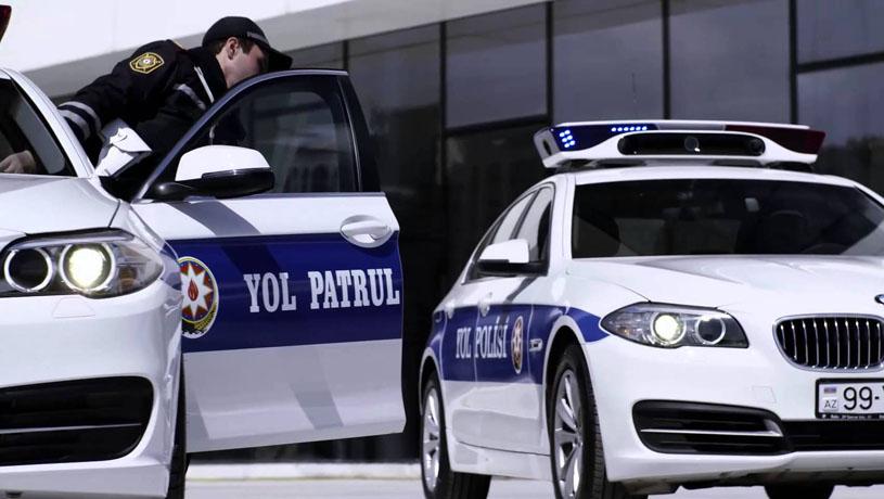 Bakıda qadınla yol polisi əməkdaşları arasında mübahisə düşüb