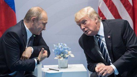 """""""Tramp hələ də Putinlə görüşmək istəyir"""""""