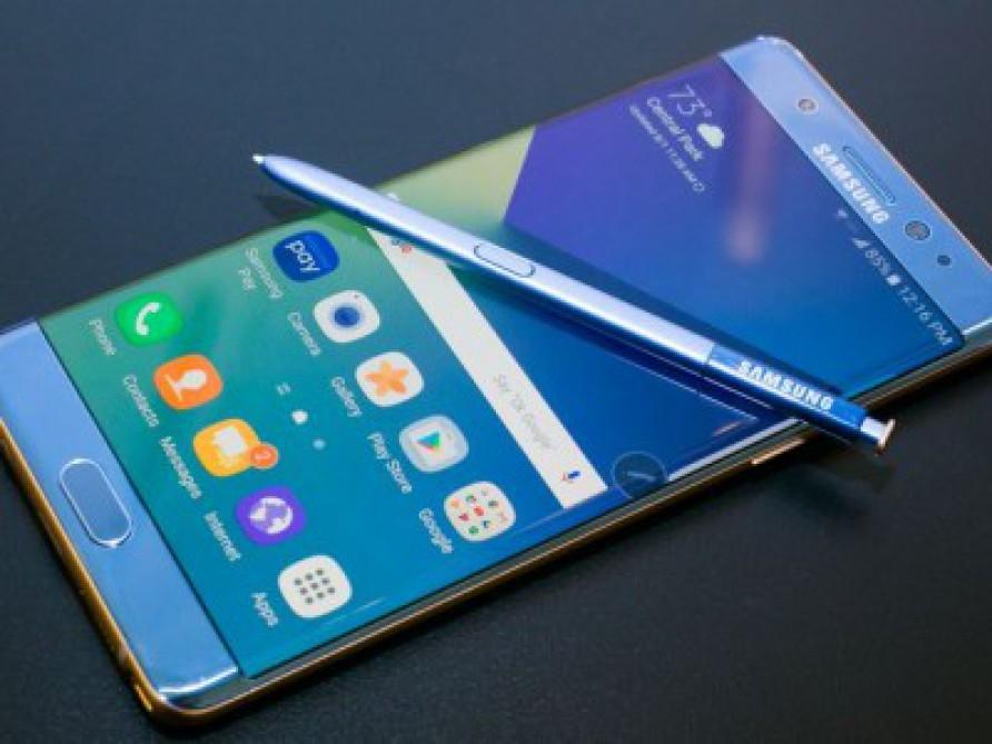 """""""Samsung Galaxy Note 7"""" yeni adla satışa çıxarılır"""
