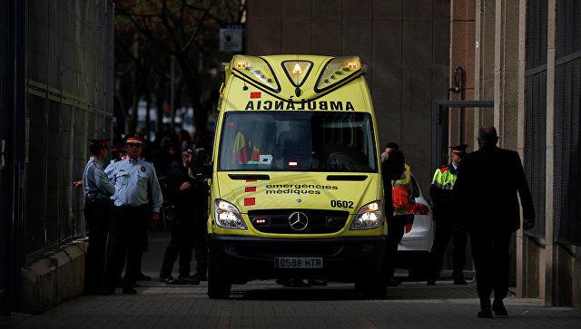 """Madriddə """"Amerika təpələri"""" atraksionunda toqquşma oldu: Azı 26 yaralı"""
