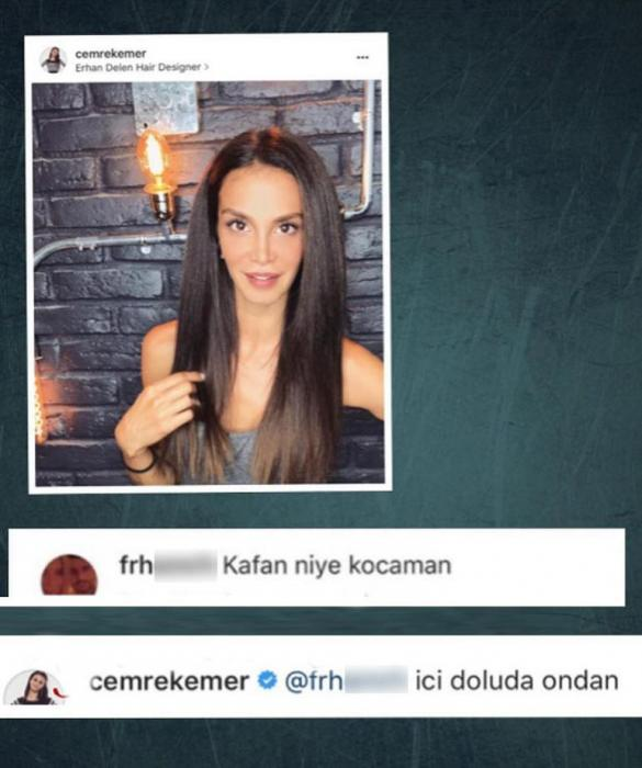 """""""Başın niyə böyükdür"""" yazan izləyicisinə elə cavab verdi ki… –"""