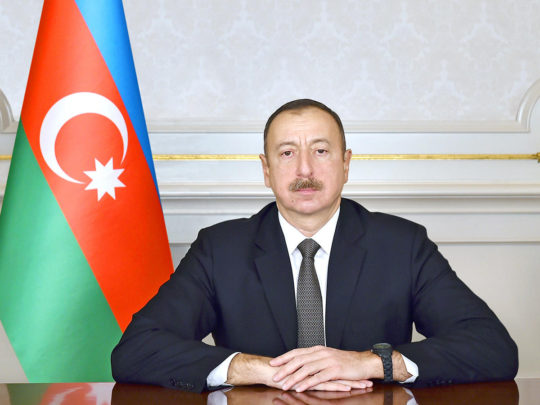 İlham Əliyev Avropa Komissiyasının vitse-prezidenti ilə görüşüb