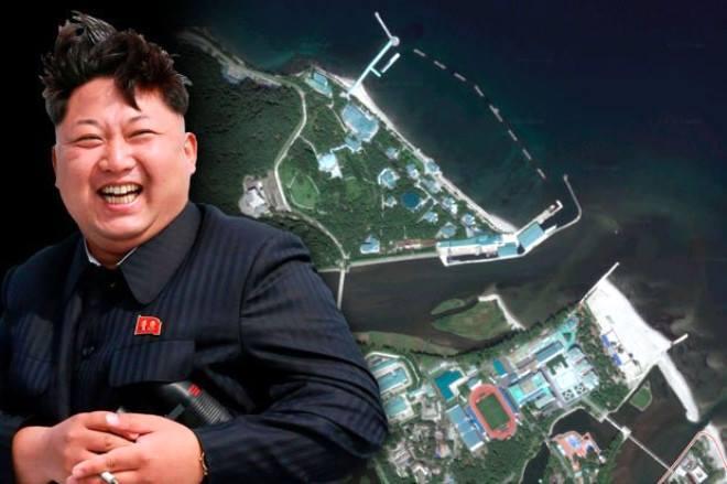 """Şimali Koreya liderinin """"gizli cənnət""""i üzə çıxdı"""