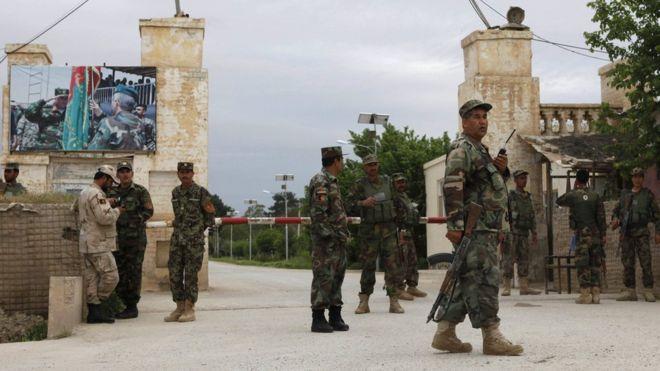 Terror hücumlarında Əfqanıstan ordusunun 15 əsgəri öldürülüb