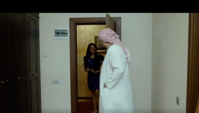 Ərəb turist azərbaycanlı qızı otel otağına dəvət edir və…