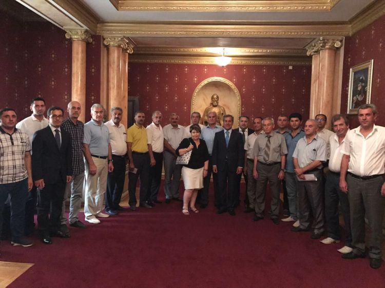 Nazim İbrahimov federasiyasının prezidenti seçildi