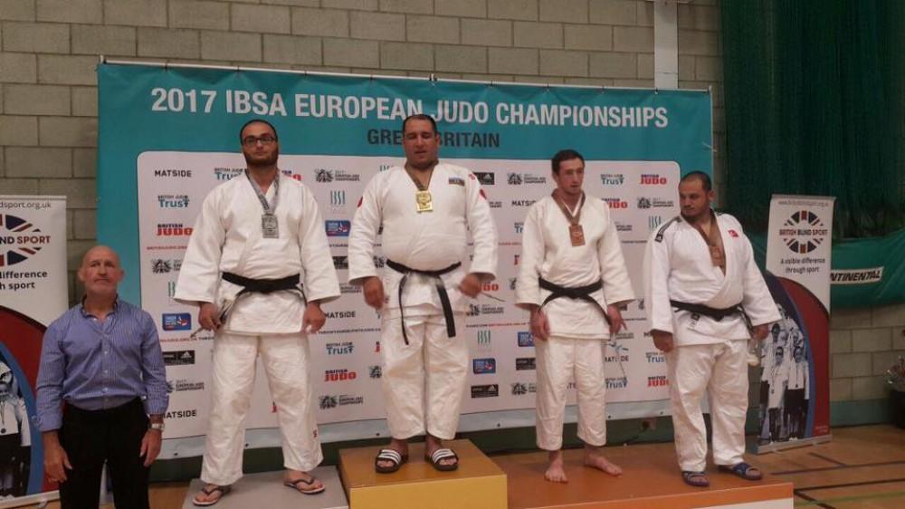 Paracüdoçularımız Avropa çempionatında 4 qızıl, 1 gümüş və 2 bürünc medal qazandı